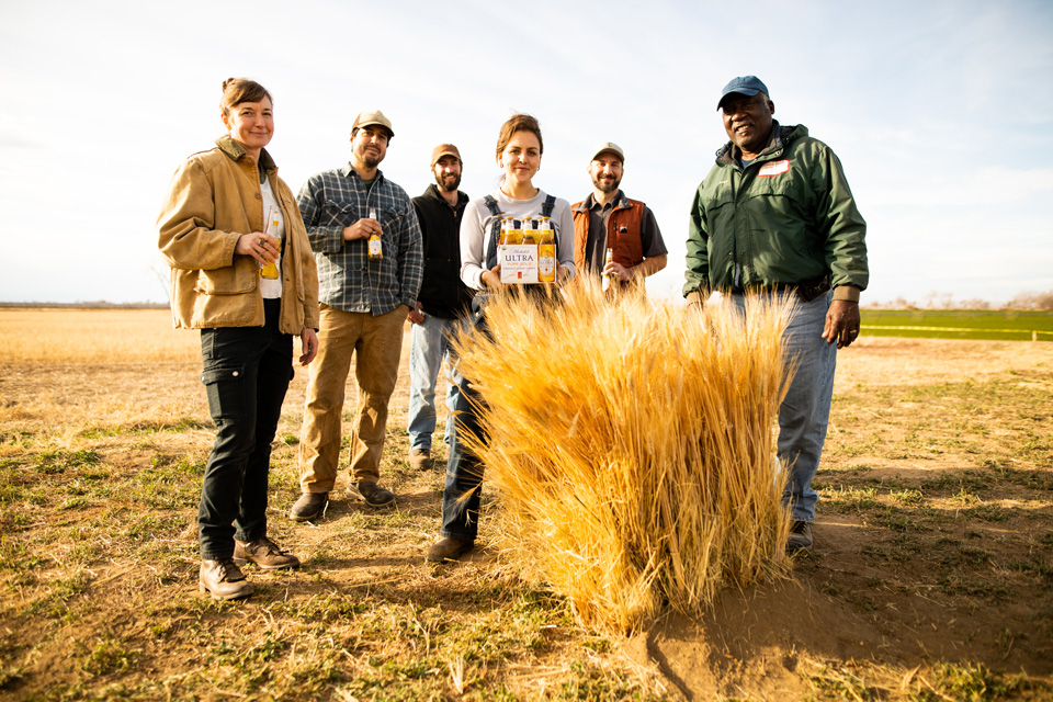 How a 6-Pack of Beer Can Help Transition Farmland to Organic