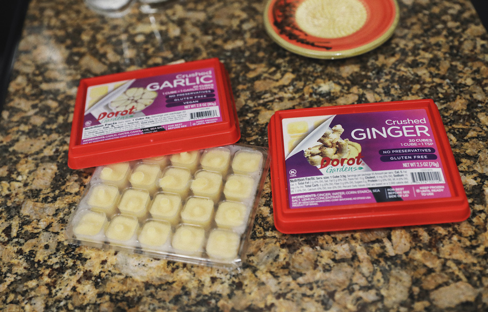 Dorot Gardens Garlic and Ginger Cubes
