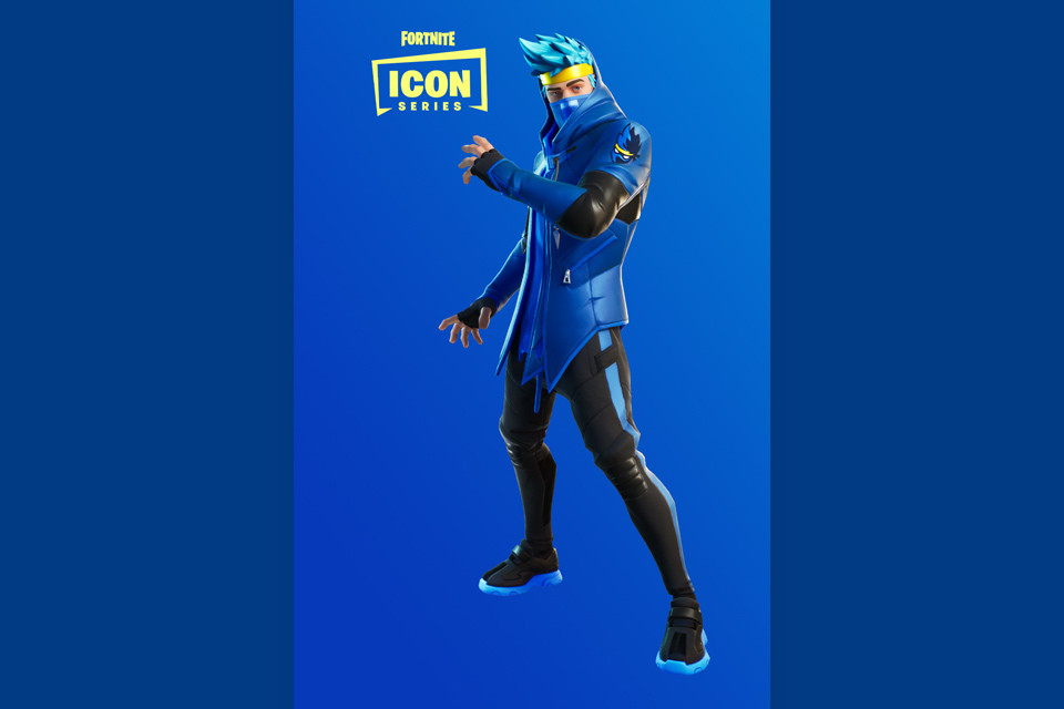 #NinjaSkin - Tyler Blevins (Ninja) gets his own skin in Fortnite