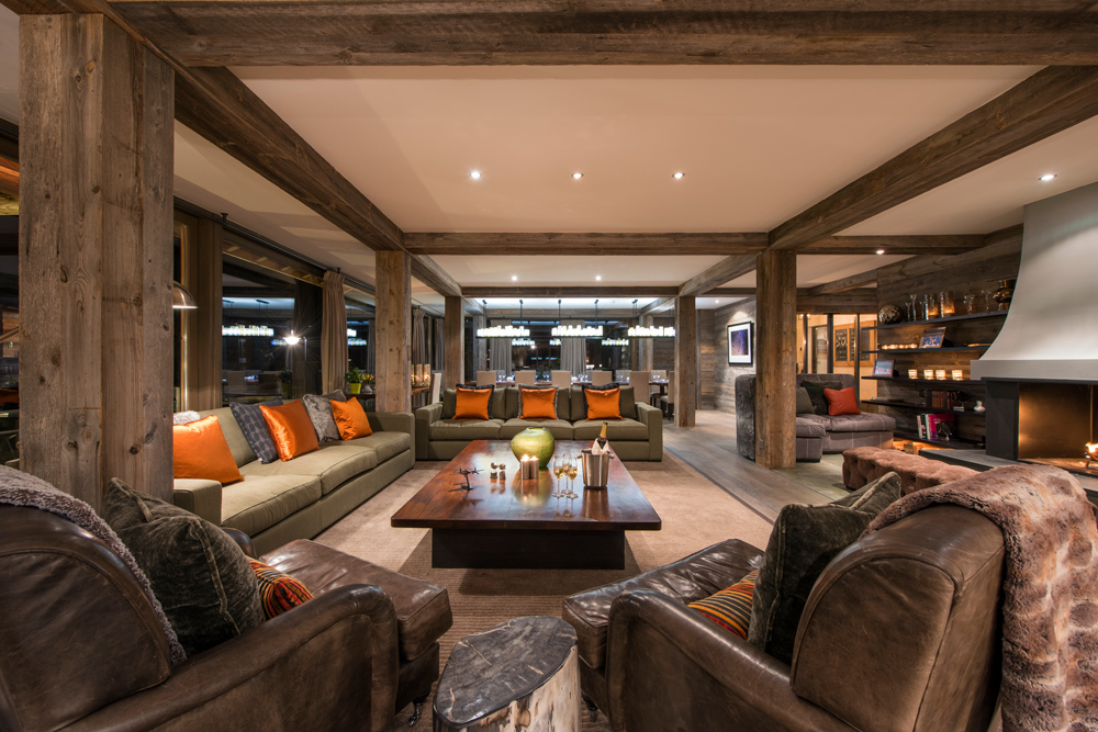 The Lodge first floor in the Swiss Alsp