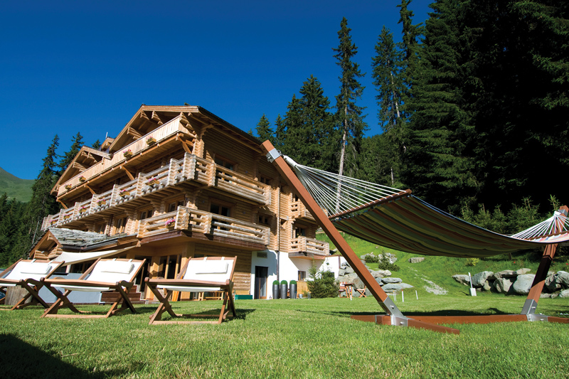 Summer wellness retreats at The Lodge, Swiss Alps