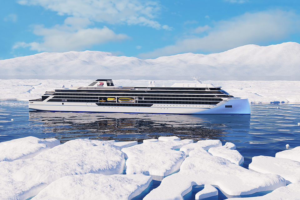 Viking Expeditions Ship Rendering