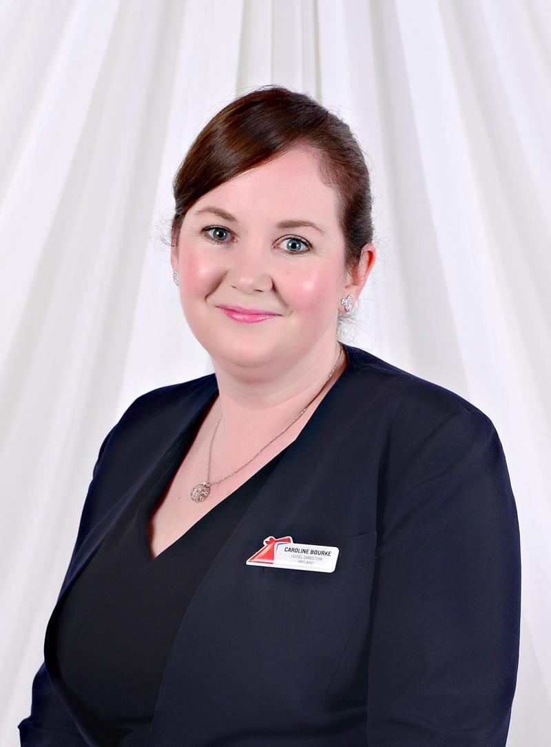 Hotel director Caroline Bourke