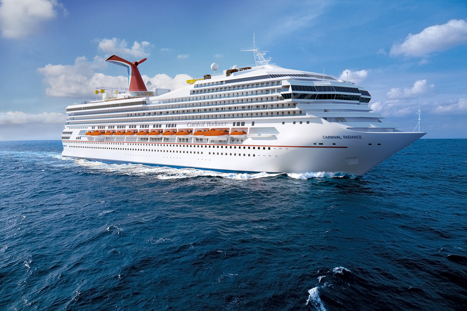 Carnival Cruise Line Announces Officers for Newly Renovated Carnival Radiance