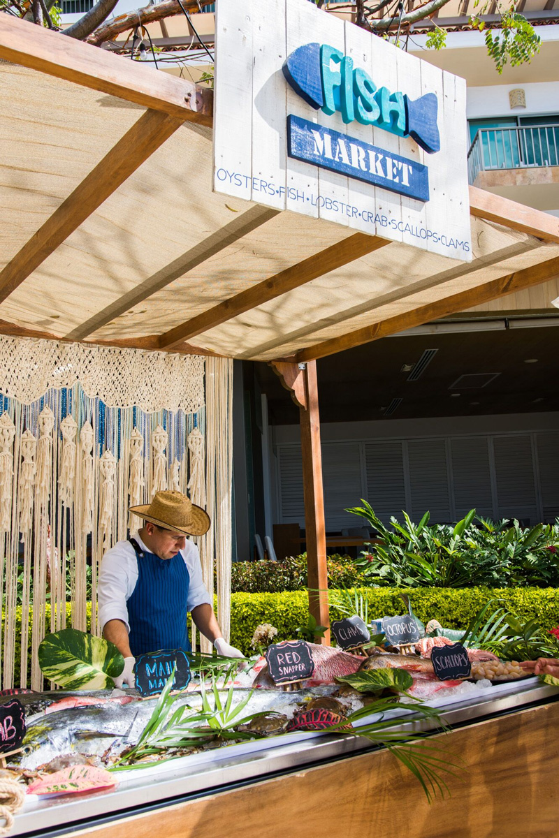 """Fish Market"" at Villa Premiere Puerto Vallarta"