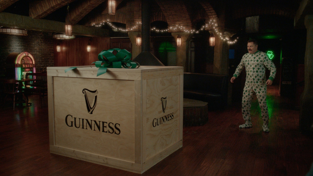 Nick Offerman partners with Guinness for St. Patrick's Day
