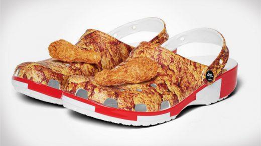 KFC x Crocs Shoes