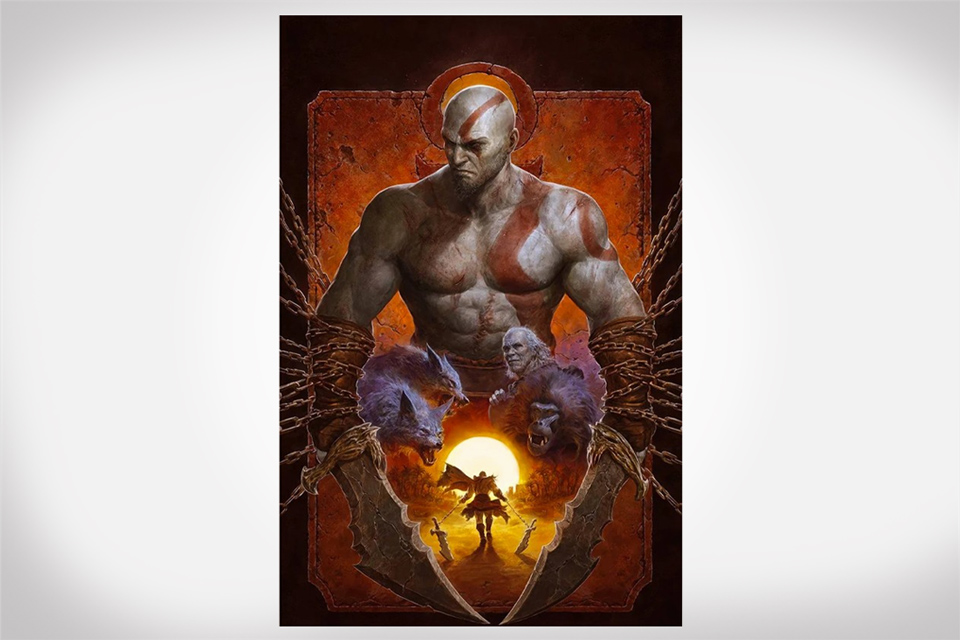 God of War: Fallen God Comic Book