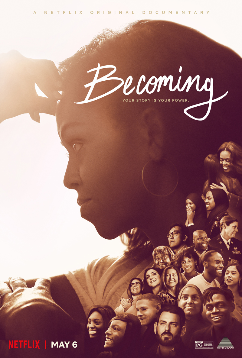 Becoming Netflix Documentary about Michelle Obama