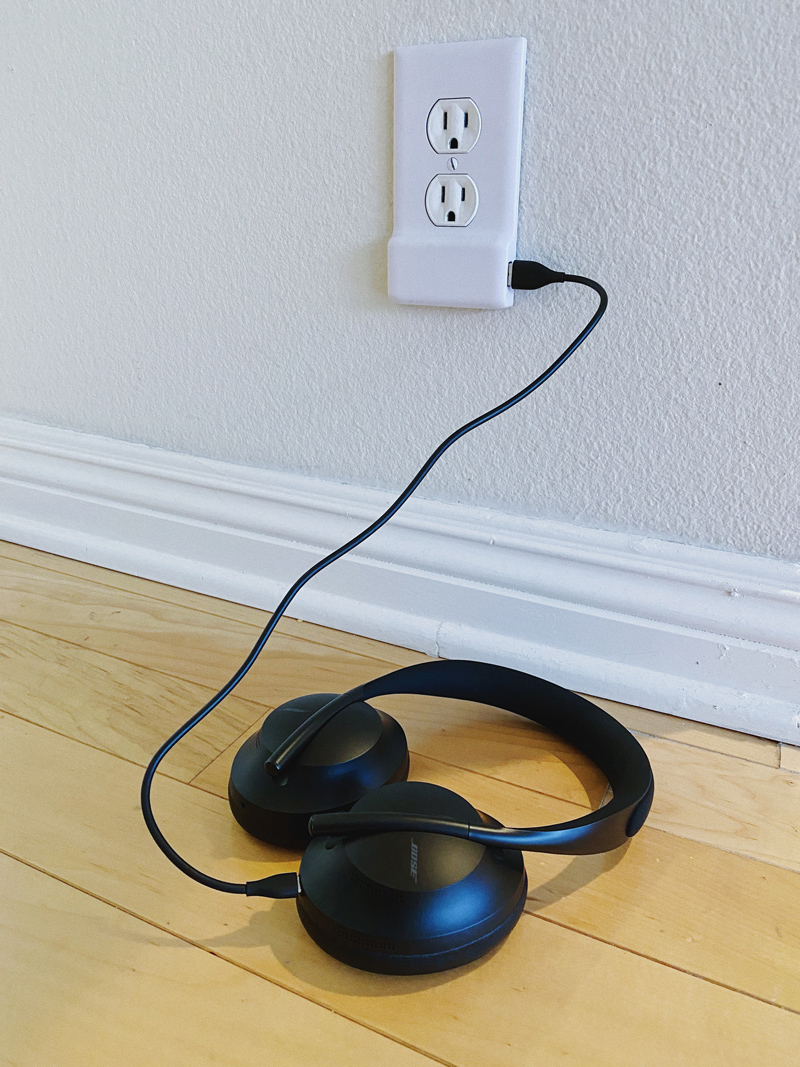 Charging Wireless Bose Headphones