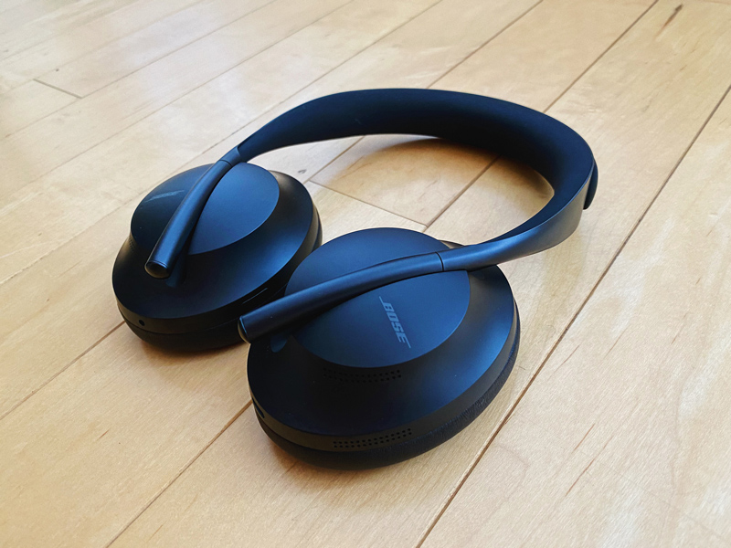Close-up of the Bose Noise Cancelling Headphones 700
