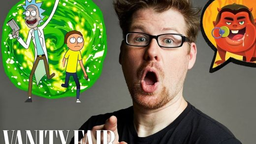 Justin Roiland Improvises cartoon voices
