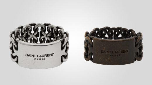 Saint Laurent Plaquette Rings