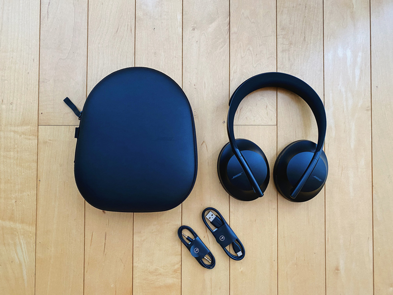Unboxing the Bose Noise Cancelling Headphones 700