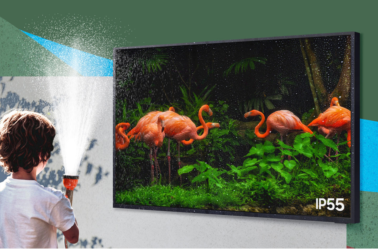 Waterproof TV by Samsung - the Samsung Terrace TV