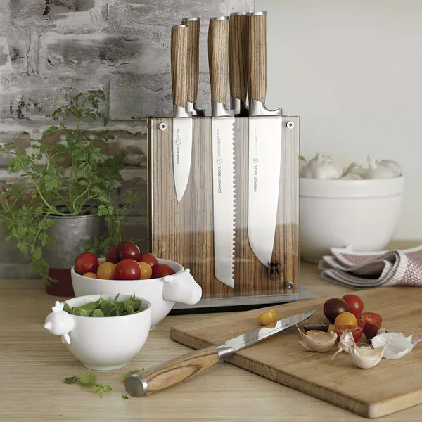Schmidt Brothers Magnetic Knife Block