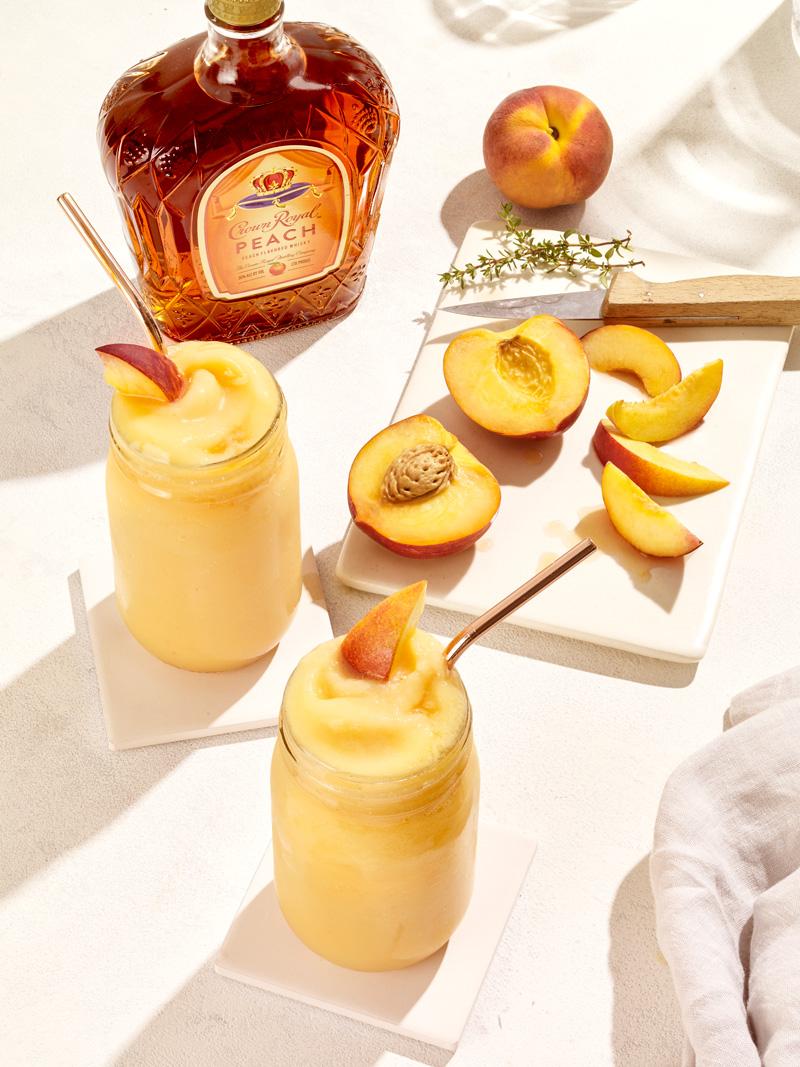 Crown Royal Peach Slushy