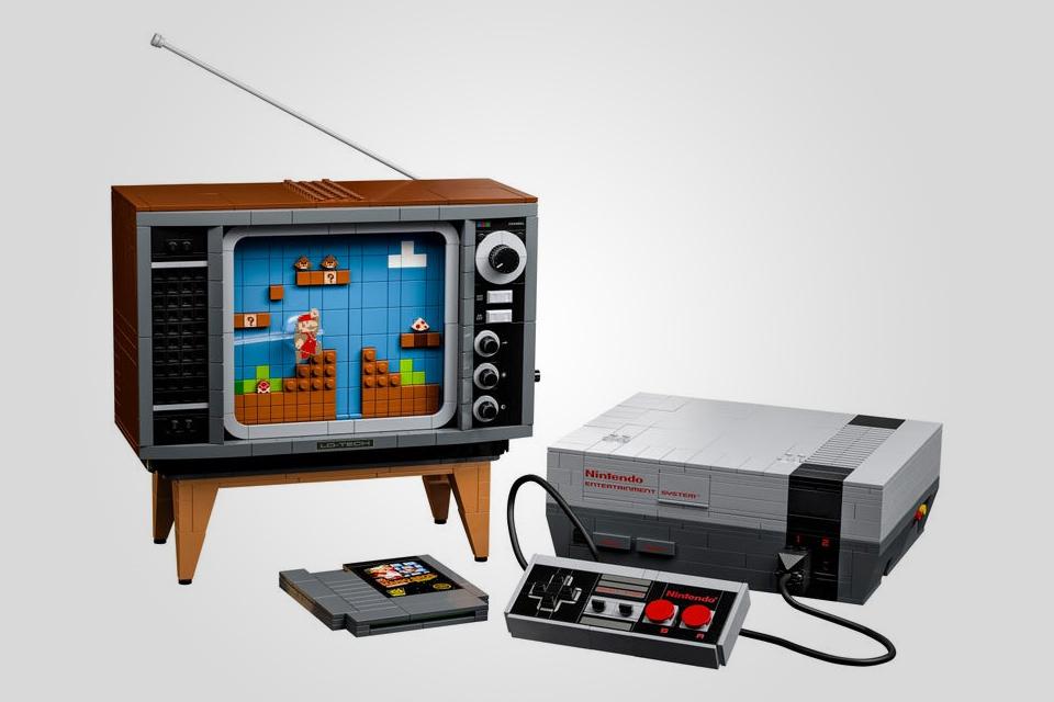 LEGO Nintendo Entertainment System Builder Kit