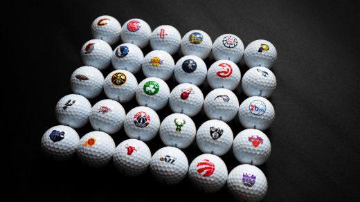 TaylorMade x NBA Golf Balls