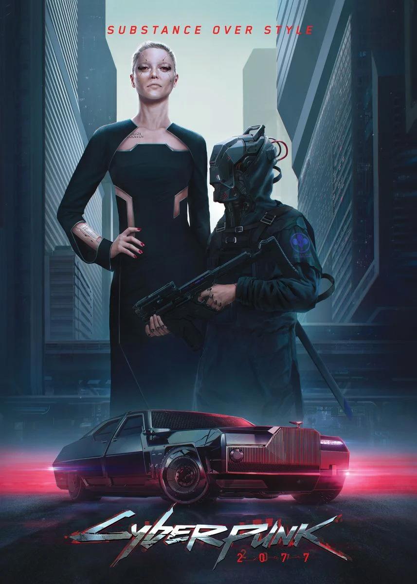 Neomilitarism Cyberpunk 2077