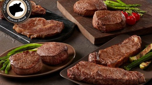 Find the perfect gift for your dad with meat boxes from Chicago Steak Company.