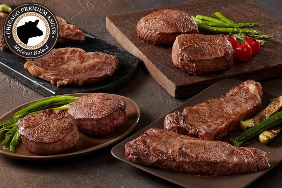 Find the perfect gift for your dad with meat gift boxes from Chicago Steak Company.