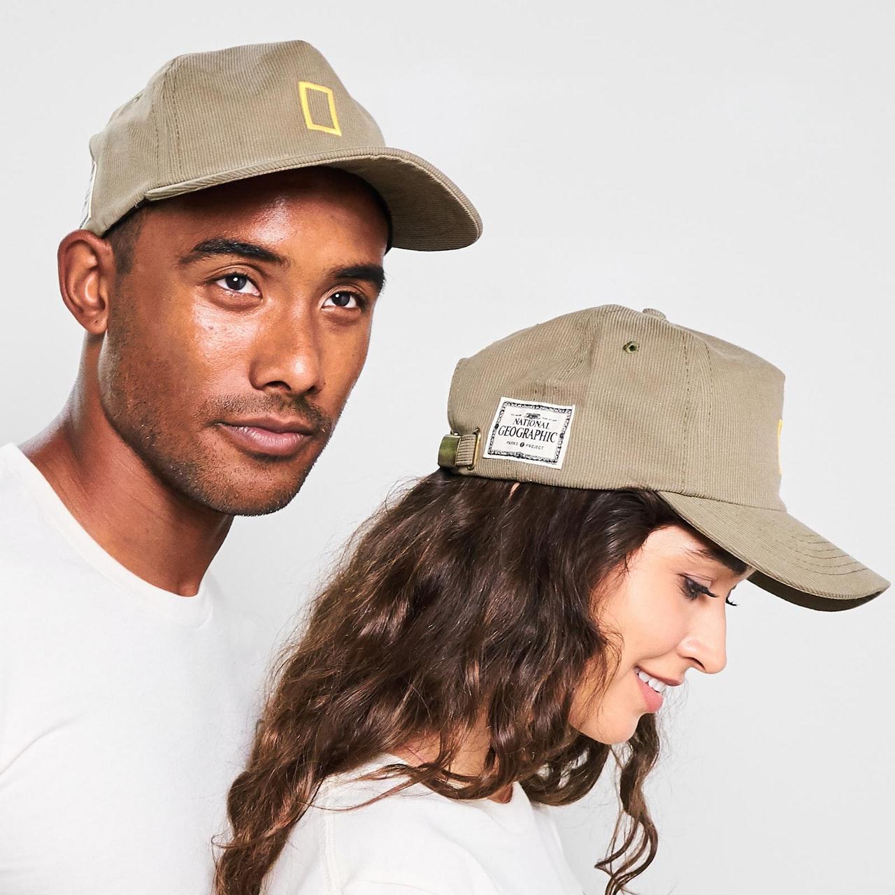 National Geographic Border Cordury Hat