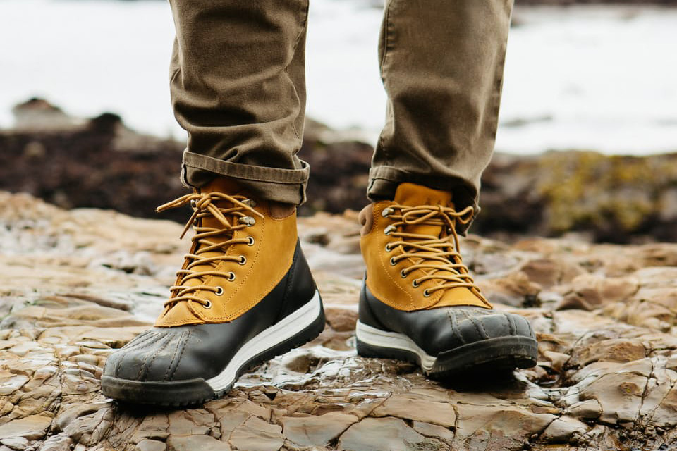 All-weather Duckboot on Huckberry