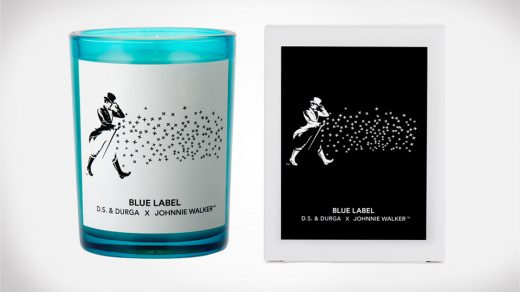 BLUE LABEL Candle from Johnnie Walker Blended Scotch Whisky and D.S. & DURGA