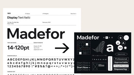 Wix Madefor Typeface