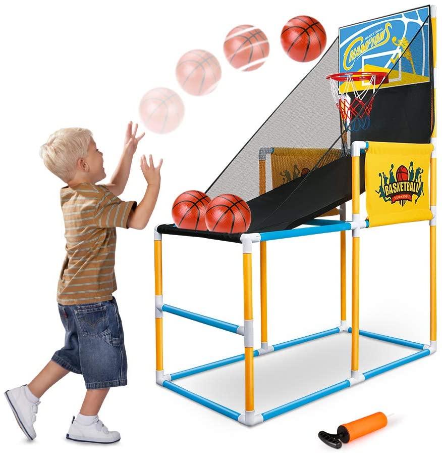 BeebeeRun Basketball Hoop Arcade Game