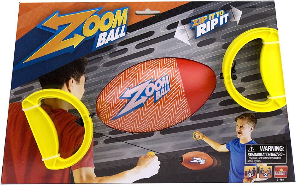 Goliath Sports Zip-It to Rip-It Zoom Ball