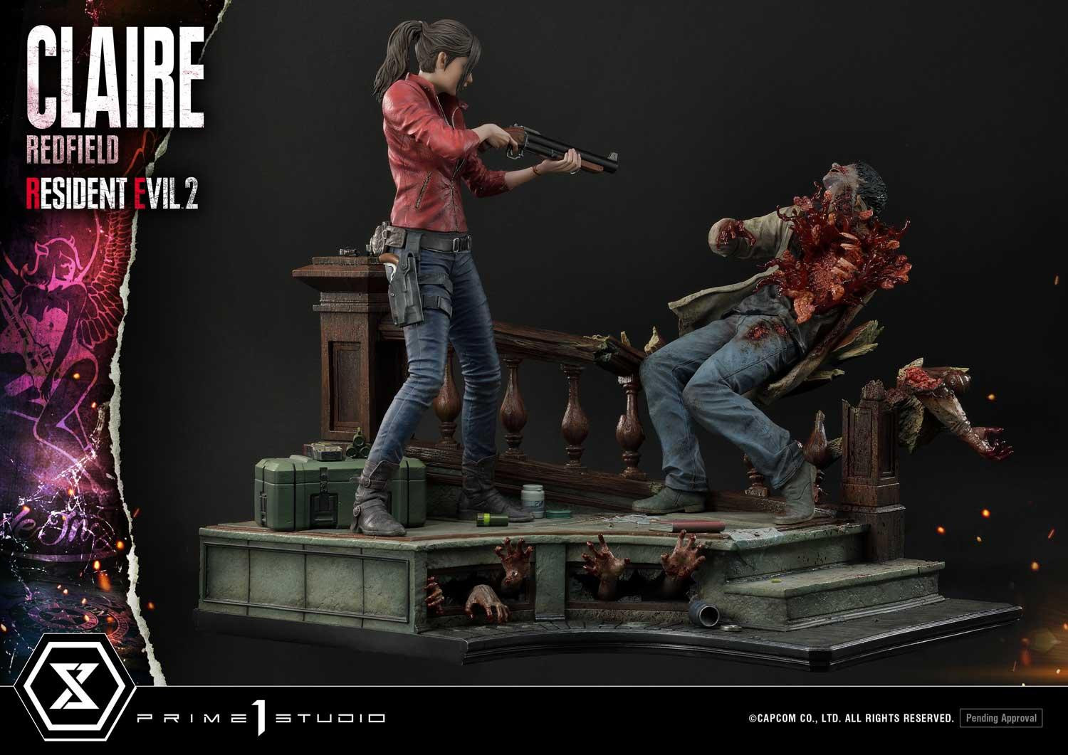 Claire Redfield Resident Evil 2 Statues