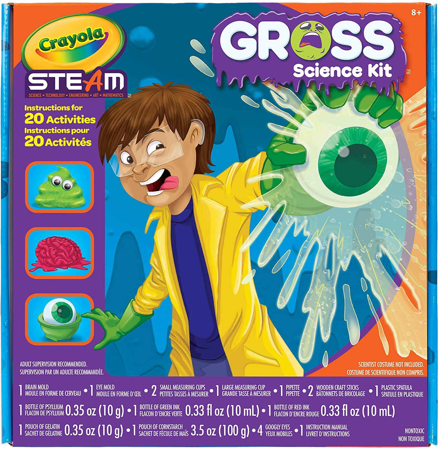 Crayola Gross Science Kit for Kids