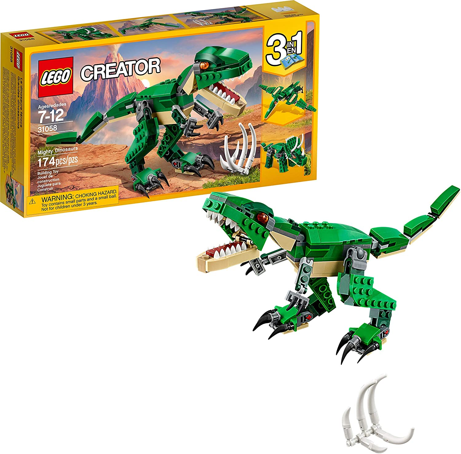 LEGO Creator Might Dinosaurs Build Set