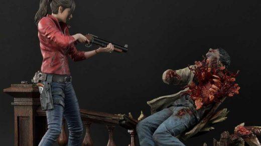 Resident Evil 2 Statues