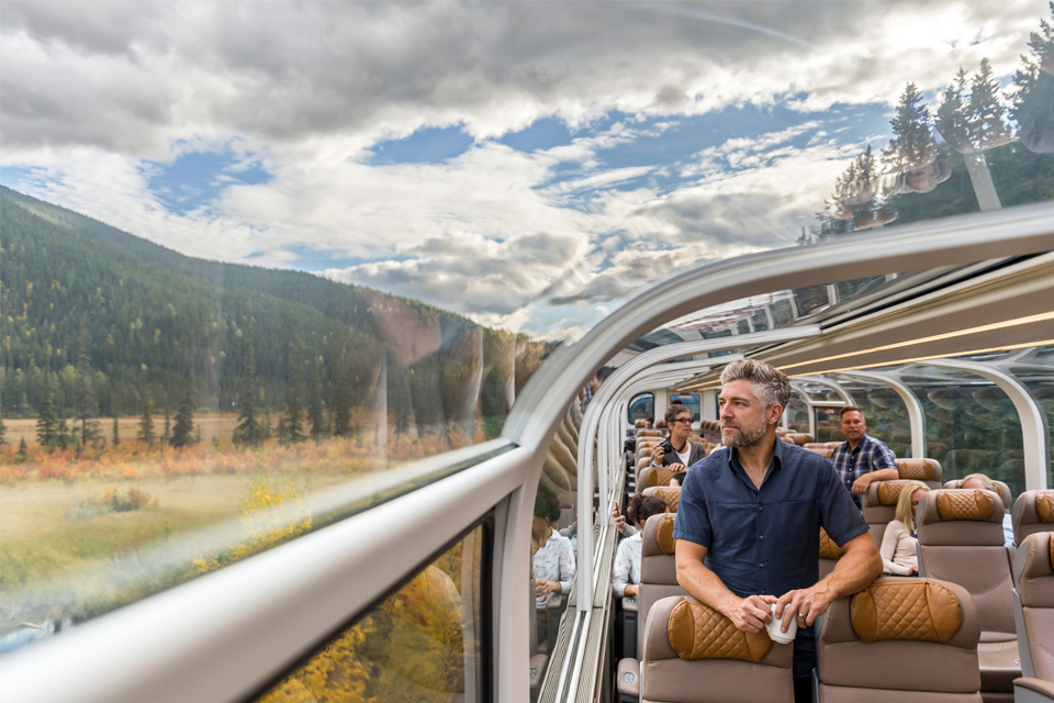 Rocky Mountaineer new route