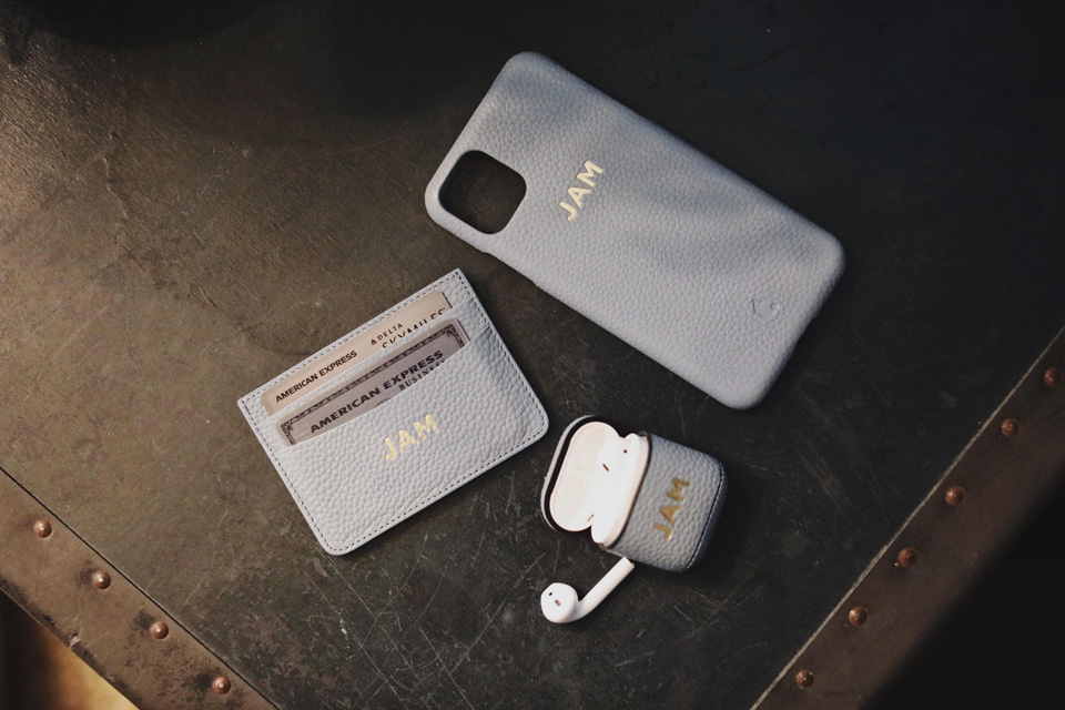 Tanon Goods iPhone Case and Airpods Case