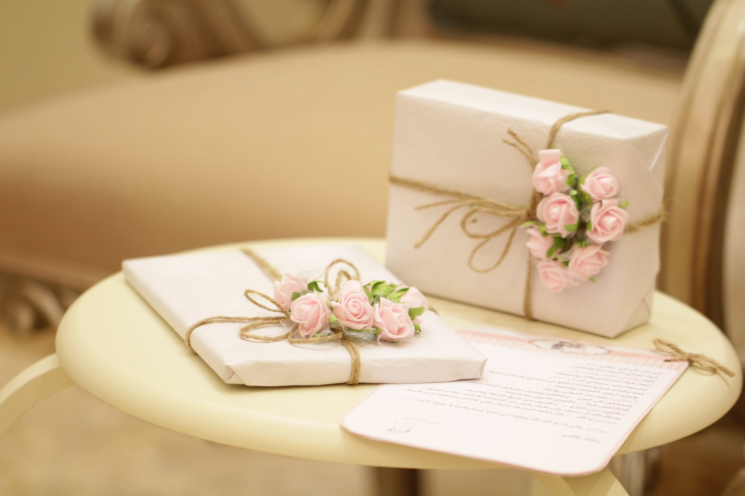 Wedding gifts for loved ones