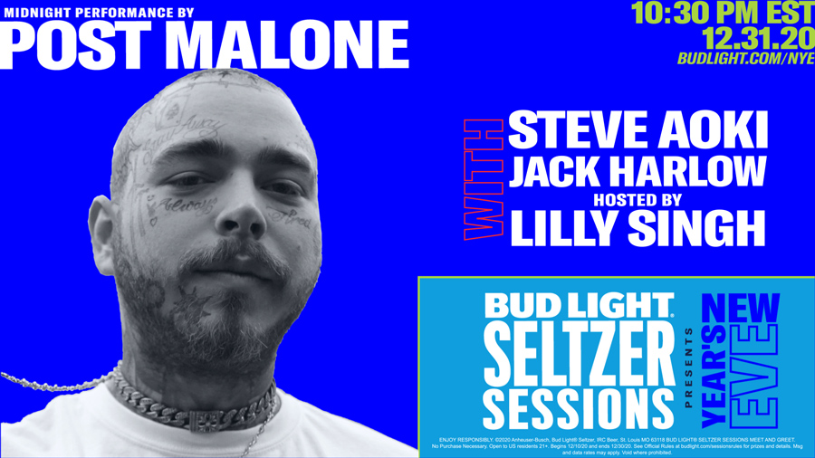 Bud Light Seltzer Session NYE 2021