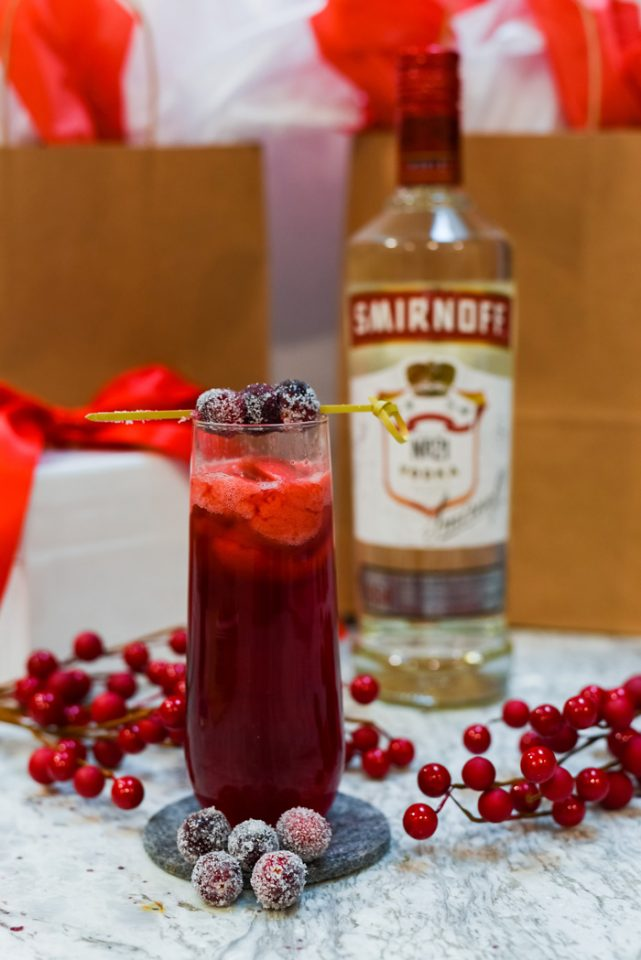 Smirnoff Winter Cranberry Mimosa