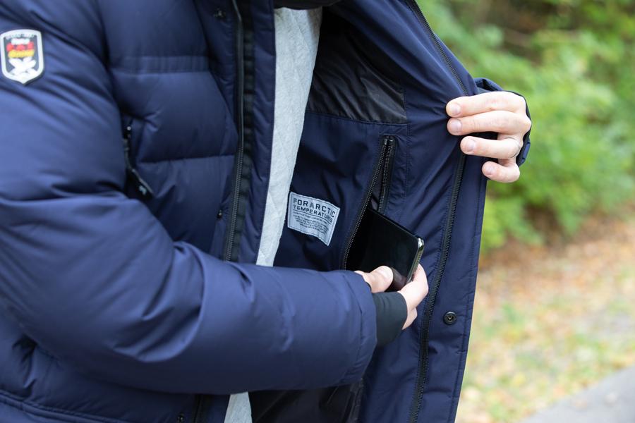 Bellinger Down Jacket by Triple FAT Goose