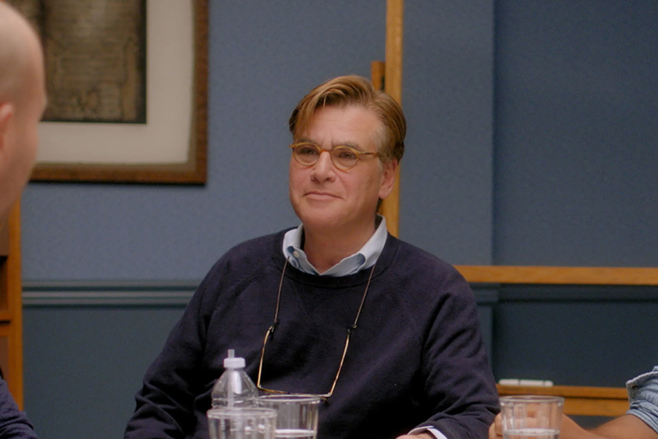 Screenwriting lessons from Aaron Sorkin