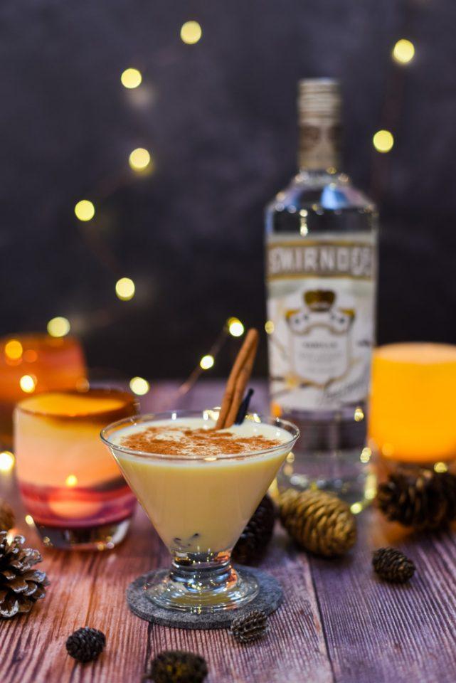 Smirnoff Eggnog Martini Recipe