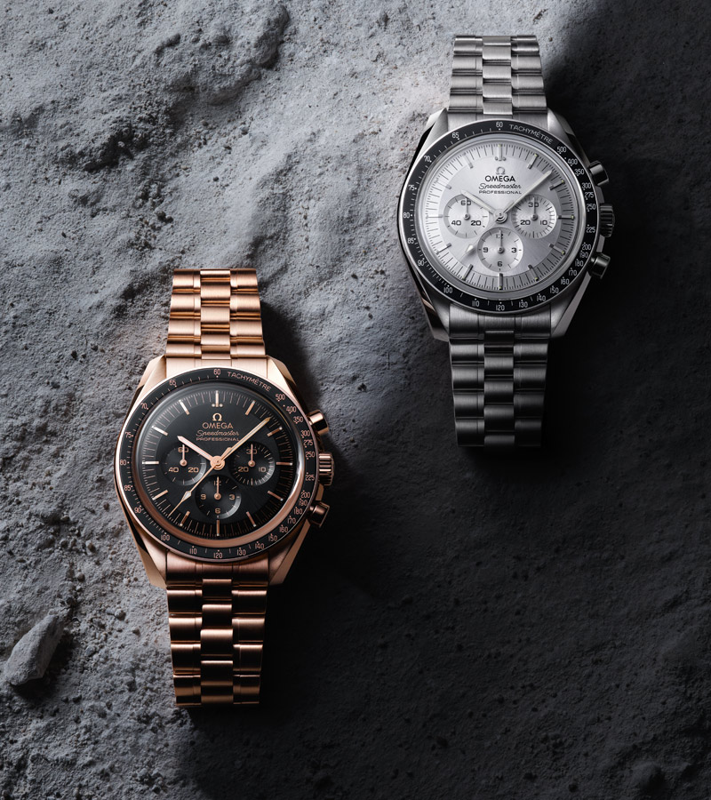 OMEGA Speedmaster Moonwatch in Gold
