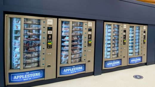 The Applestone Meat Co 24/7 Meat Vending Machines