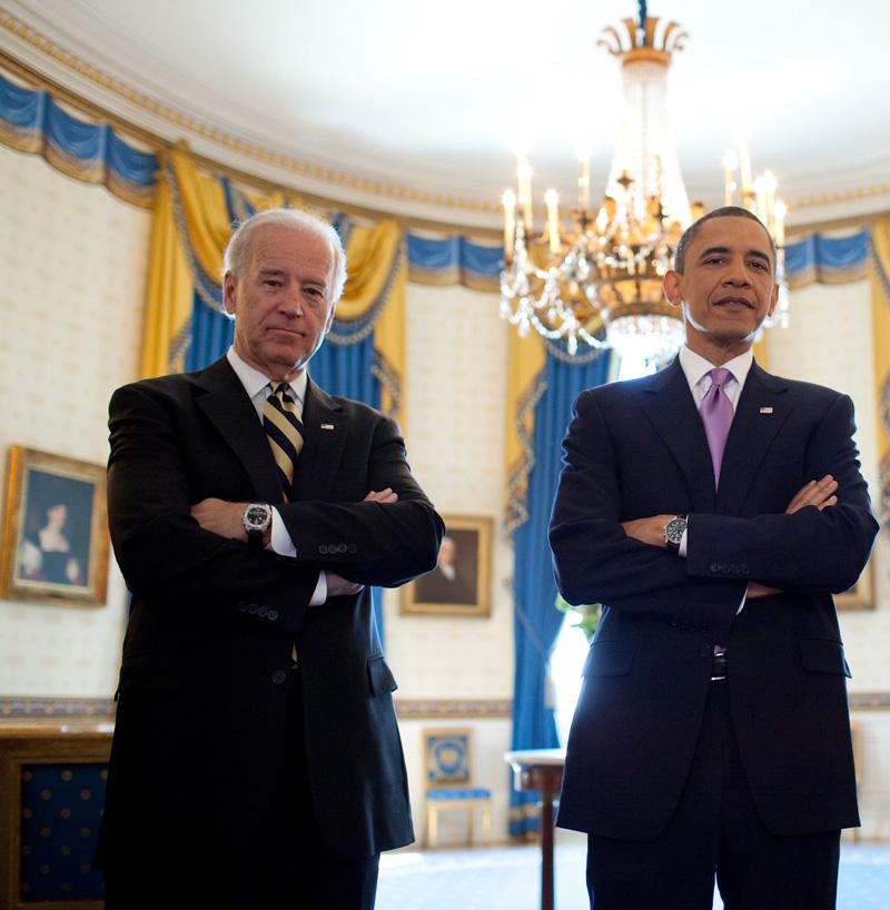 Joe Biden wearing Tissot T Touch watch