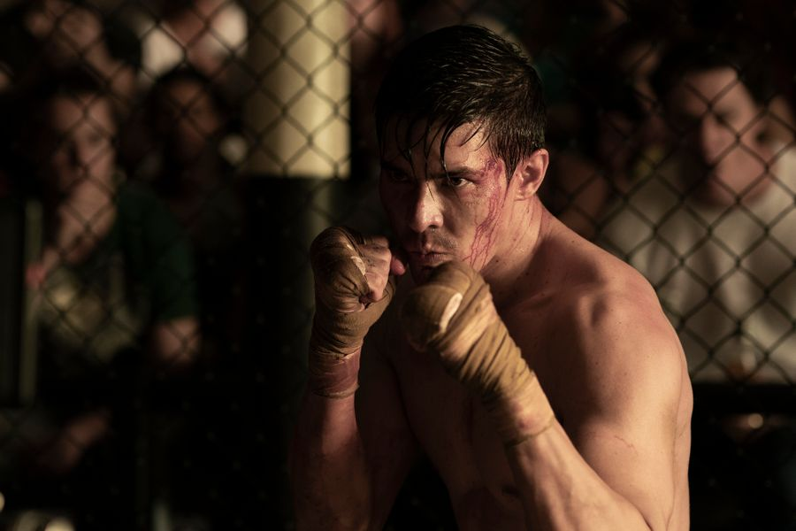 Lewis Tan as Cole Young in Mortal Kombat Trailer