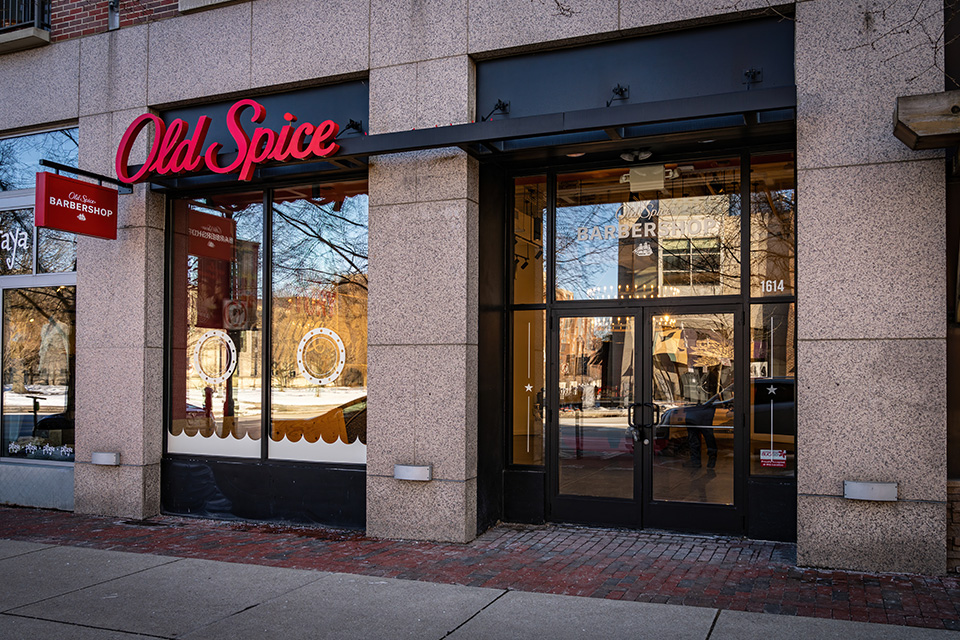 Old Spice is Opening First-Ever Barbershop & Retail Space