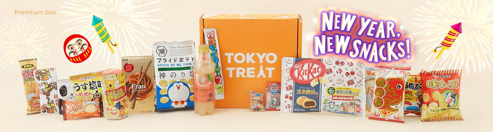 New Year Japanese Snack Boxes - TokyoTreat review